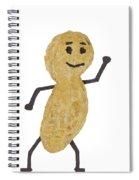 Peanut Figure 1 B Spiral Notebook