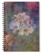 Pear Blossom Morning Impression 8941 Idp_2 Spiral Notebook