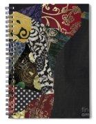 Pear Brocade I Spiral Notebook