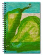 Pear Gem 2 Spiral Notebook