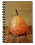 Pear On Cutting Board 1.0 Spiral Notebook