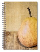 Pear On Cutting Board 2.0 Spiral Notebook