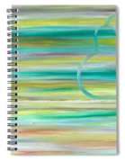 Pear On Table Spiral Notebook