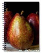 Pear Trio Still Life Spiral Notebook