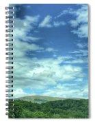 Pearisburg Virginia View Spiral Notebook