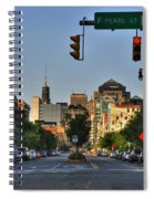 Pearl And Main Street Spiral Notebook