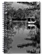 Pearl Bw Spiral Notebook