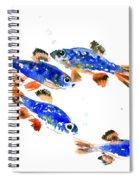 Pearl Danio Spiral Notebook
