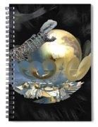 Pearl Egg Lizard Spiral Notebook