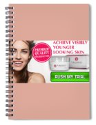 Pearl Essence Skin Cream Spiral Notebook