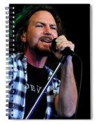 Pearl Jam Spiral Notebook