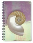 Pearl Nautilus Shell Spiral Notebook
