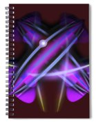 Pearl Of The Quarter Spiral Notebook