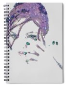 Pearlesqued Individual Spiral Notebook