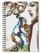 Pearlesqued She Spiral Notebook