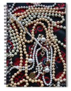 Pearls 3 Spiral Notebook