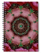 Pearls Dedicated To Beautu Spiral Notebook