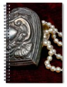 Pearls From The Heart Spiral Notebook