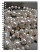Pearls Spiral Notebook