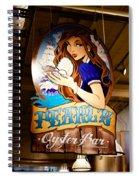 Pearls Oyster Bar Spiral Notebook