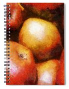 Pears D'anjou Spiral Notebook