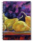 Pears Mioummmmmmmmmm Spiral Notebook