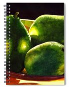 Pears No 2 Spiral Notebook