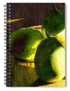 Pears No 3 Spiral Notebook