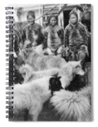 Peary Expedition, C1908 Spiral Notebook