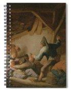Peasant Brawl In A Tavern Spiral Notebook