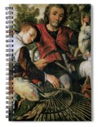 Peasants At The Market Spiral Notebook