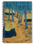 Peasants Gathered In A Sacred Wood_ Spiral Notebook