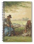 Peasants Resting Spiral Notebook