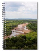Pease On The River Spiral Notebook