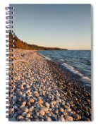 Pebble Beach Autumn    Spiral Notebook