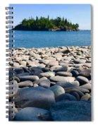 Pebble Beach Spiral Notebook