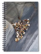 Pebble Beach Rocks 8778 Spiral Notebook