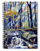 Pebble Creek Autumn Spiral Notebook