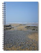 Pebble Strewn Beach Spiral Notebook