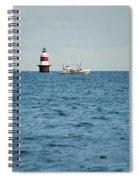 Peck Ledge Lighthouse Spiral Notebook