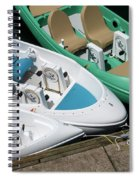 Pedal Boats Spiral Notebook