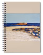 Pedersen Beach Lake Superior Spiral Notebook