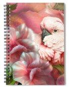Peek A Boo Cockatoo Spiral Notebook