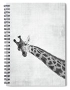 Peekaboo Giraffe Spiral Notebook