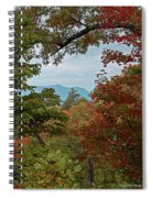 Peeking At The Smokies Spiral Notebook
