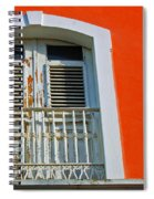 Peel An Orange Spiral Notebook