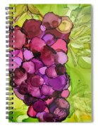 Peel Me A Grape Spiral Notebook