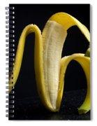 Peeled Banana. Spiral Notebook