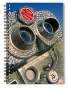 Peep Show Spiral Notebook
