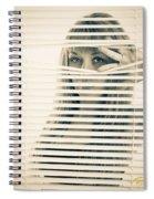 Peeping Alex Spiral Notebook